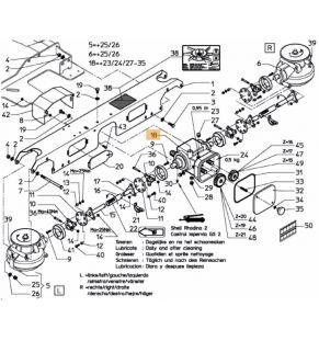 Cutie de viteze centrala completa Kverneland VNB4065078